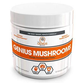 THE GENIUS BRAND Genius Mushrooms 90 kap.
