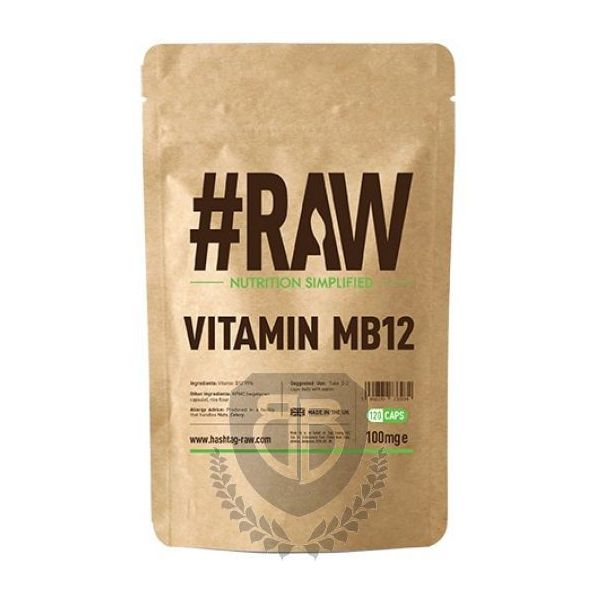 #RAW VITAMIN MB12 120 KAP.