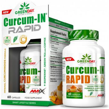 AMIX GreenDay Curcum-IN Rapid 60 kap.