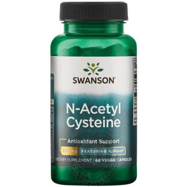 SWANSON NAC 100 kap. N-Acetyl Cysteina
