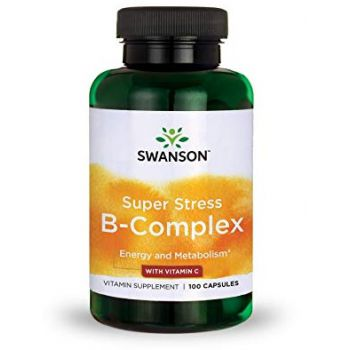 SWANSON Stress Super B-Complex 100 kap.