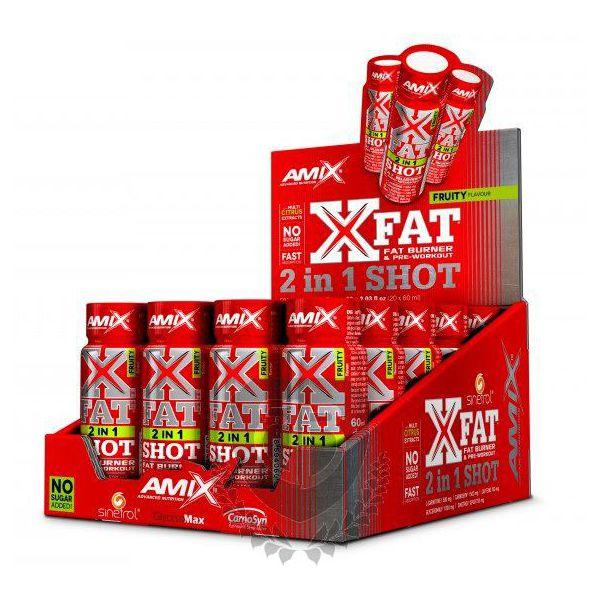 AMIX X-Fat 2 in 1 Shot 60ml