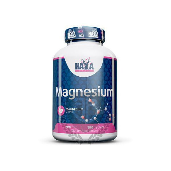 HAYA LABS Magnesium Citrate 100 tab.