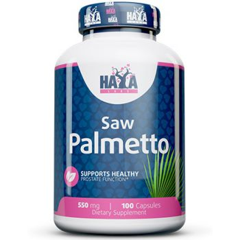 HAYA LABS Saw Palmetto 550mg 100 kap.