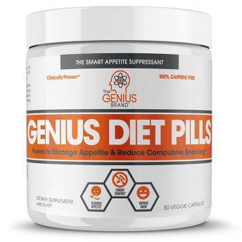 GENIUS Diet Pills 50 kap.