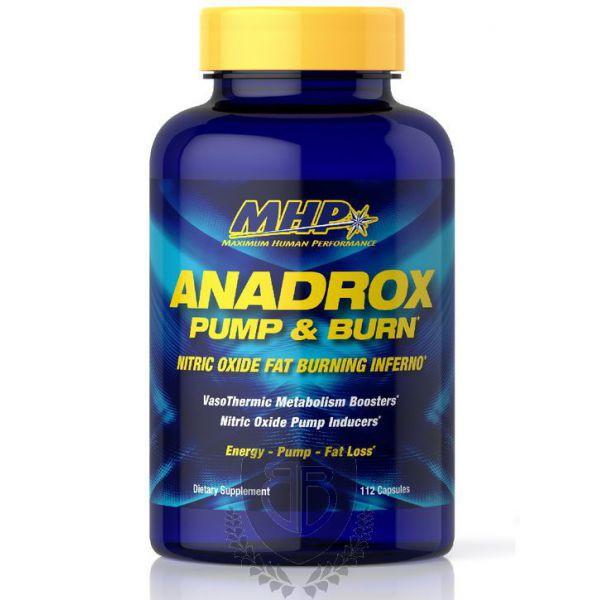 MHP Anadrox Pump & Burn 112 tab.