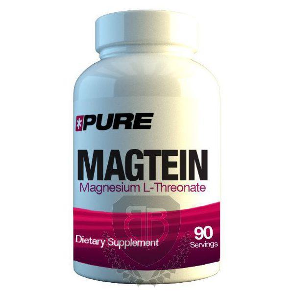 PURE Magtein 90 kap. Magnesium L-Threonate