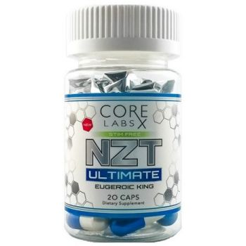 CORE LABS X NZT Ultimate 20 kap. Eugeroic King