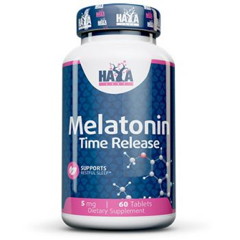 HAYA LABS Melatonin Time Release 60 tab.