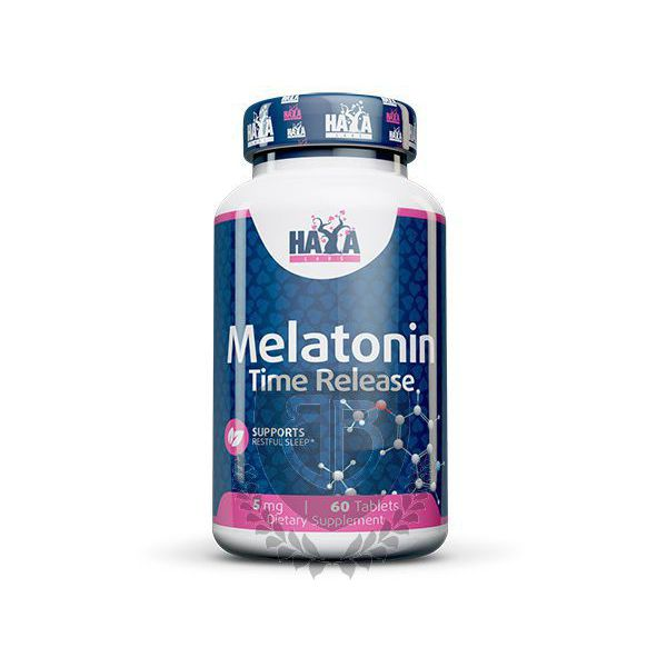 HAYA LABS Melatonin Time Release 60 tab.