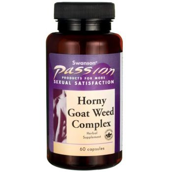 SWANSON Horny Goat Weed Complex 60 kap.