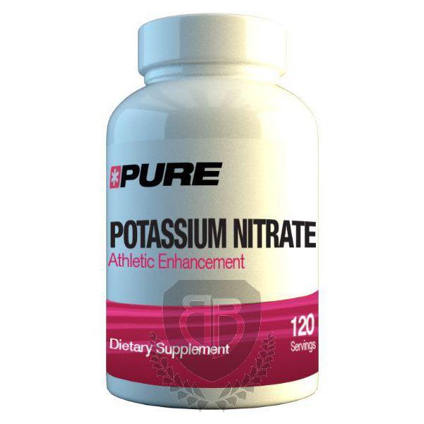 PURE Pottasium Nitrate 120 kap.