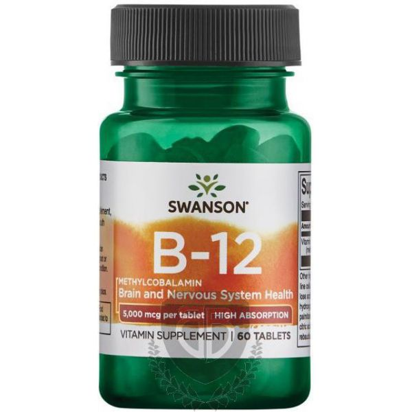 SWANSON Methylcobalamin B12 60 tab. Witamina B-12