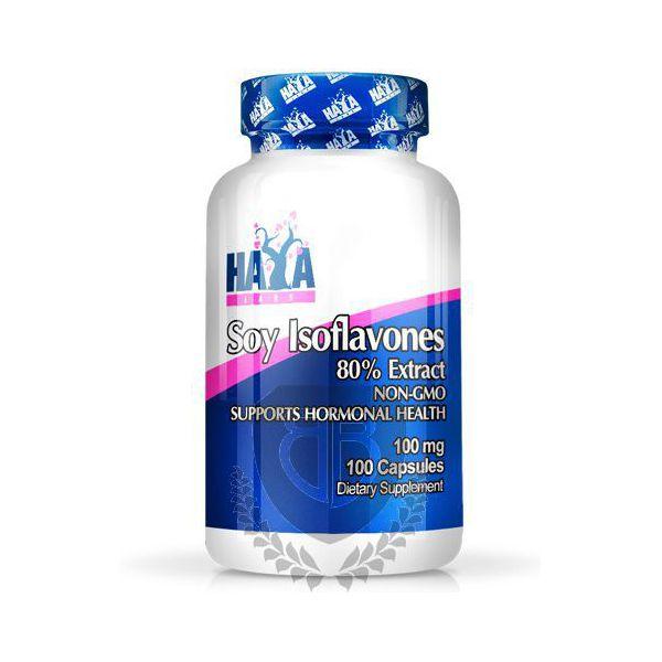 HAYA LABS Soy Isoflavones Extract 100 kap.