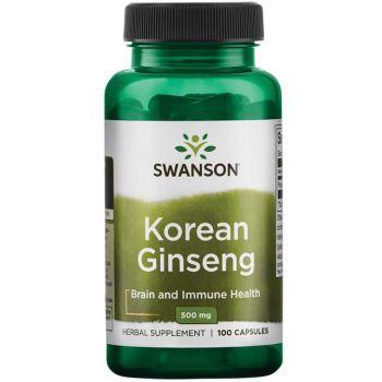 SWANSON Korean Ginseng 100 kap.