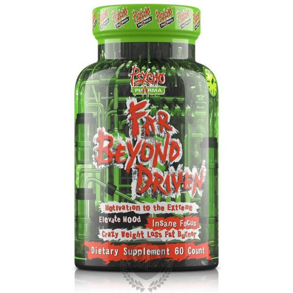PSYCHO PHARMA Far Beyond Driven 60 kap.