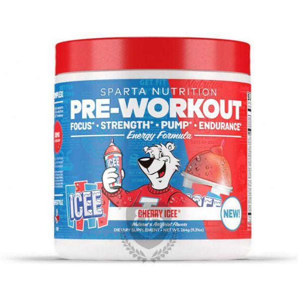 SPARTA NUTRITION Pre-Workout 264g