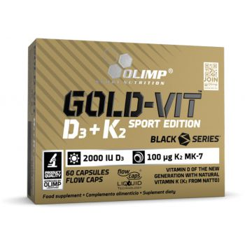 OLIMP Gold-Vit D3+K2 Sport Edition 60 kap.