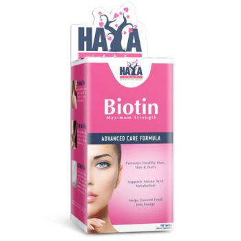 HAYA LABS Biotin Maximum Strength 10 000 mcg 100 tab.
