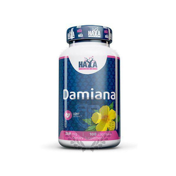 HAYA LABS Damiana Leaf Extract 100 kap.
