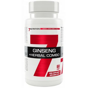 7NUTRITION Ginseng + Herbal Combo 60 kap.