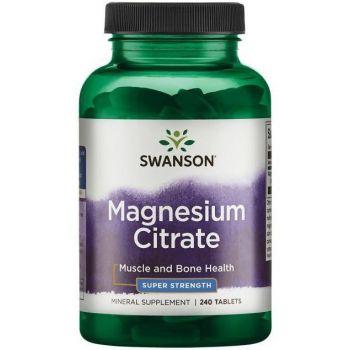 SWANSON Magnesium Citrate 240 tab.