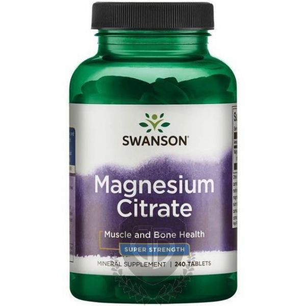 SWANSON Magnesium Citrate 120 tab.