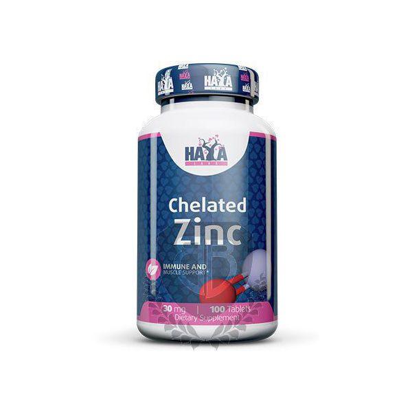 HAYA LABS Chelated Zinc 100 tab.