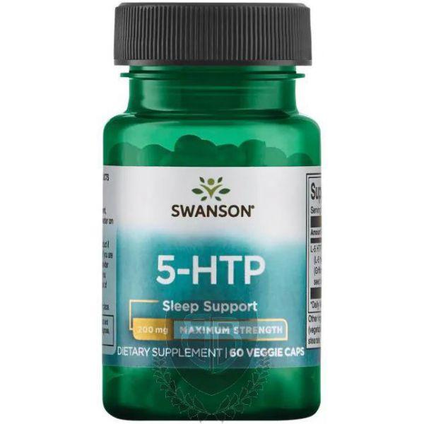 SWANSON 5-HTP 60 kap. 200mg