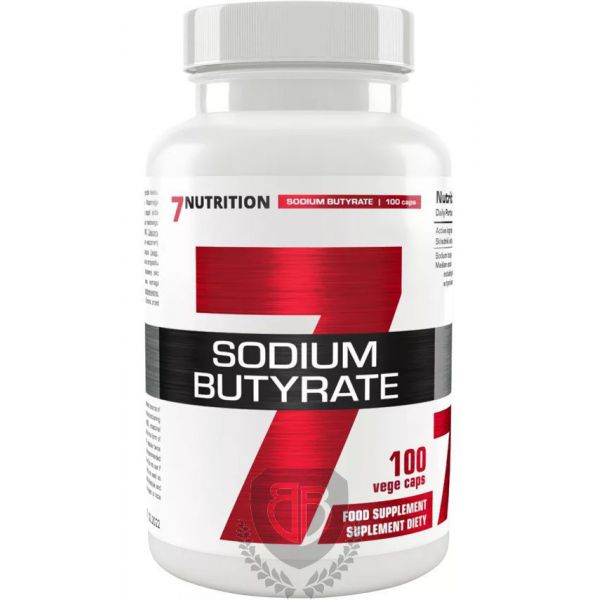 7NUTRITION Sodium Butyrate 100 kap.