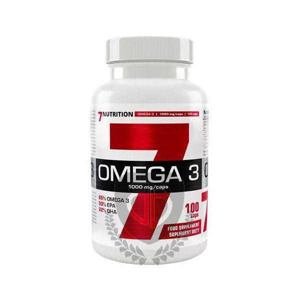 7NUTRITION Omega-3 65% 1000mg 100 kap.