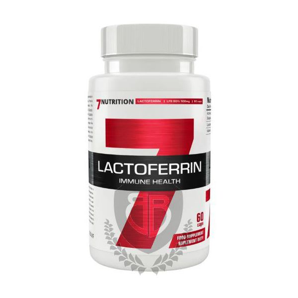 7NUTRITION Lactoferrin 60 kap.