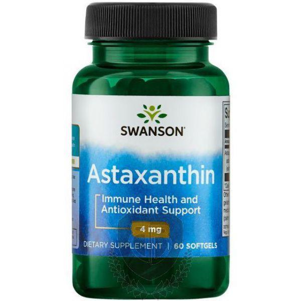 SWANSON Astaxanthin 60 kap. Astaksantyna