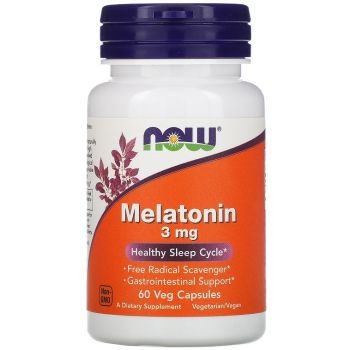NOW FOODS Melatonina 60 tab.