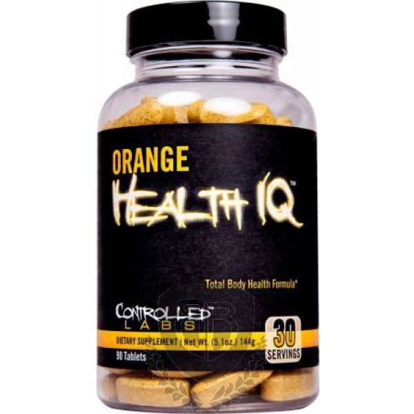 CONTROLLED LABS Orange Health IQ 90 tab.