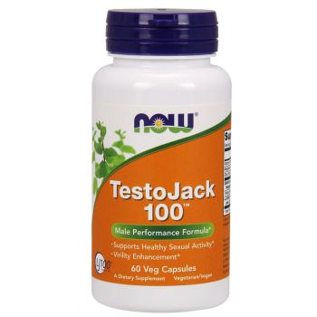 NOW FOODS TestoJack 100 60 kap.