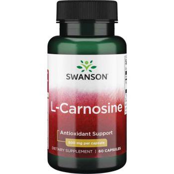 SWANSON L-Carnosine 60 kap. Karnozyna