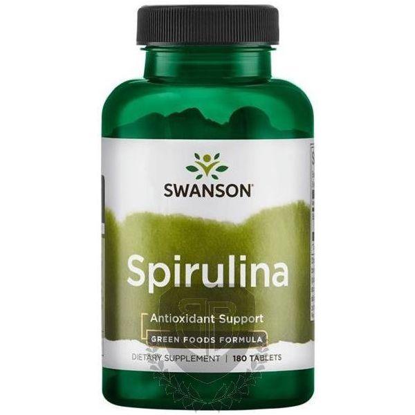 SWANSON Certified Organic Spirulina 180 tab.