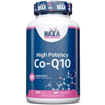 HAYA LABS High Potency Co-Q10 100mg 60 kap.