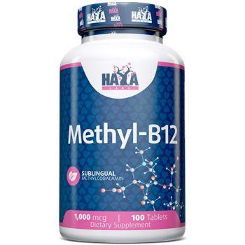 HAYA LABS Sublingual Methyl B-12 1000mcg 100 tab.