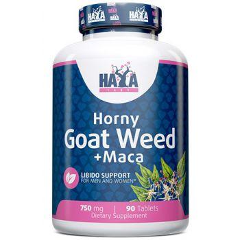 HAYA LABS Horny Goat Weed Extract + Maca 90 TAB.