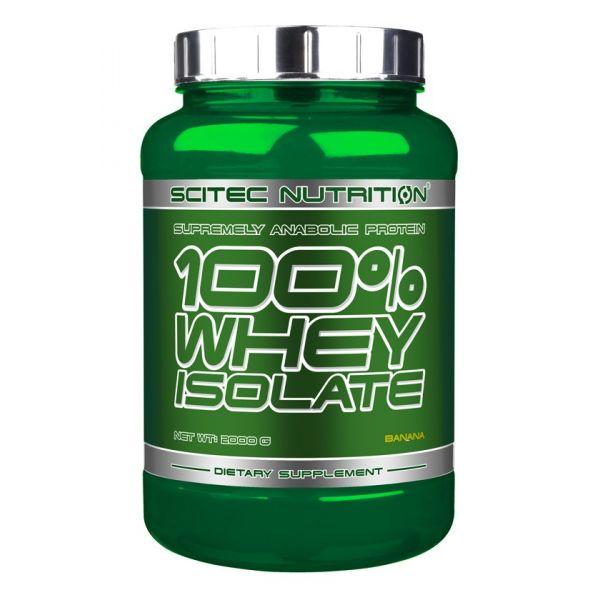 SCITEC 100% Whey Isolate 2kg