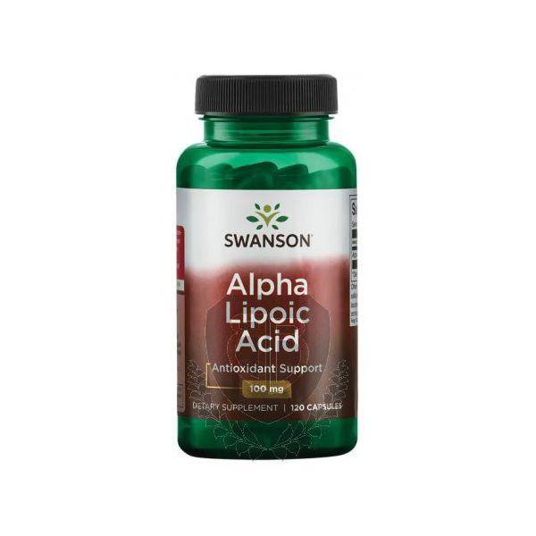 SWANSON ALA Alpha Lipoic Acid 120 kap.