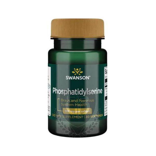 SWANSON Phosphatidylserine 300 mg 30 kap. Fosfatydyloseryna