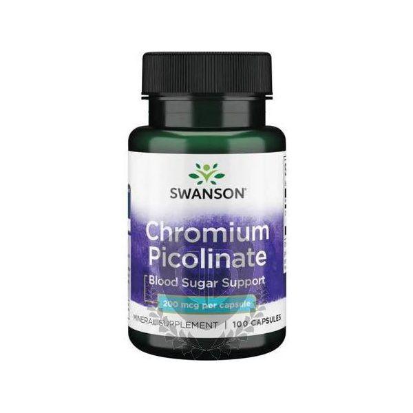 SWANSON Chromium Picolinate 100 kap.