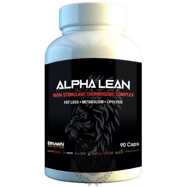 BRAWN NUTRITION Alpha Lean 90 kap.