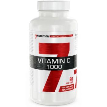 7NUTRITION Vitamin C 1000 90 kap.