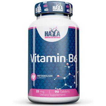 HAYA LABS Vitamin B6 25mg 90 tab.
