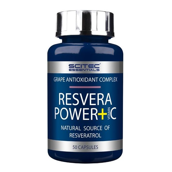 SCITEC Resvera Power+C 50 kap.