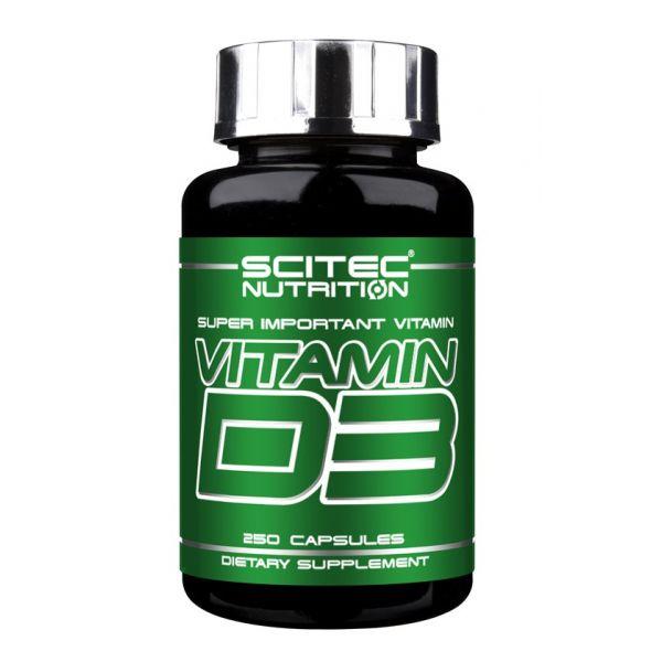 SCITEC Vitamin D3 250kap.